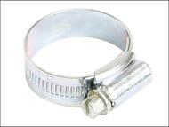 Jubilee JUB0 - 0 Zinc Protected Hose Clip 16 - 22mm (5/8 - 7/8in)
