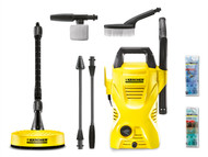 Karcher KARK2CHCAR - K2 Compact Car & Home Pressure Washer 110 Bar 240 Volt