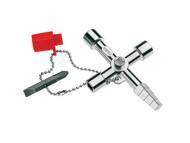 Knipex KPX001104 - Profi-Key Professional Control Cabinet Key - 10 Way