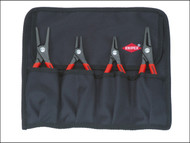 Knipex KPX001957 - Precision Circlip Pliers Set in Roll (4)