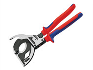 Knipex KPX9532320 - Cable Cutters 3 Stage Ratchet Action 60mm Capacity 320mm