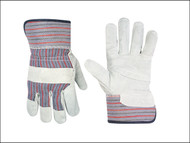 Kuny's KUN2046 - Leather Palm Rigger Gloves Large (Size 10)