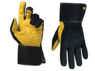 Kuny's KUN270L - Hybrid-270 Top Grain Leather Cuff Gloves Large (Size 10)