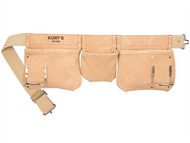 Kuny's KUNAP1300 - AP-1300 Carpenter's Apron 5 Pocket Suede Leather