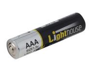 Lighthouse L/HBATAAA - Alkaline Batteries AAA LR03 1120mAh Pack of 4