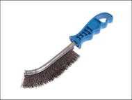 Lessmann LES056301 - Universal Hand Brush 260mm x 28mm 0.3 Crimped Steel Wire