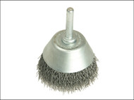 Lessmann LES437162 - Cup Brush With Shank D70mm x 25h x 0.30 Steel Wire