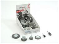 Lessmann LES499907 - DIY Wire Brush Assortment (36 Asstd)
