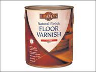 Liberon LIBFVWNCM25L - Natural Finish Floor Varnish Clear Matt 2.5 Litre