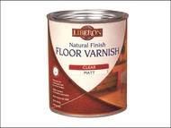 Liberon LIBFVWNCS25L - Natural Finish Floor Varnish Clear Satin 2.5 Litre