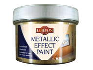 Liberon LIBMEPWG250 - Metallic Effect Paint White Gold 250ml
