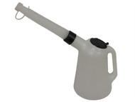 Lumatic LUMMF20SA - Polyethylene Oil Measure Jug With Spout 2 Litre