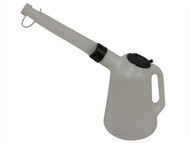 Lumatic LUMMF50SA - Polyethylene Oil Measure Jug With Spout 5 Litre