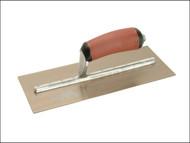 Marshalltown M/TMPB1GSD - MPB1GSD Pre-Worn Plasterers Trowel Gold Stainless Steel DuraSoft 11 x 4.1/2in