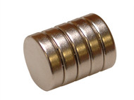 E-Magnets MAG656 - 656 Neodymium Disc Magnet 12mm (Pack of 5)