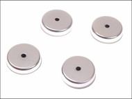 E-Magnets MAG702 - 702 Ferrite Shallow Pot Magnets(4) 25mm