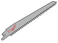 Milwaukee MIL48001075 - SAWZALL Sabre Blade Wood/Plastic 150mm 6 tpi (3)