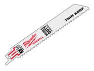 Milwaukee MIL48005184 - SAWZALL Metal Sabre Blade 150mm 18 tpi (5)