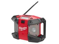 Milwaukee MILC12JSR0 - C12 JSR-0 Compact Jobsite Radio 240 Volt & 12 Volt Li-Ion Bare Unit