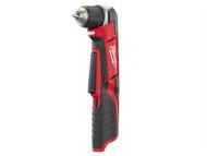 Milwaukee MILC12RAD0 - C12 RAD-0 Compact Right Angle Drill 12 Volt Bare Unit