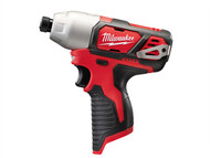 Milwaukee MILM12BID0 - M12 BID-0 Sub Compact 1/4in Impact Driver 12 Volt Bare Unit
