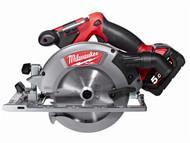 Milwaukee MILM18CCS555 - M18 CCS55-502C Fuel 165mm Circular Saw 18 Volt 2 x 5.0Ah Li-Ion