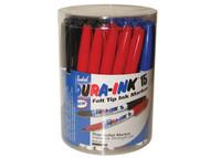 Markal MKL96070 - Dura-Ink 15 Fine Tip Marker Tub 48