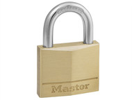 Master Lock MLK140 - Solid Brass 40mm Padlock 4-Pin