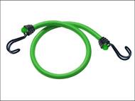 Master Lock MLK3021E - Twin Wire Bungee Cord 80cm Green 2 Piece