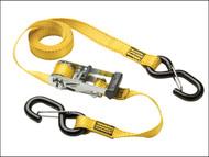 Master Lock MLK3057E - Ratchet Tie-Down S Hooks 3m 2 Piece