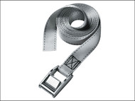 Master Lock MLK3112E - Lashing Strap with Metal Buckle 5m 150kg 2 Piece