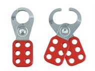 Master Lock MLKS420 - Lockout Standard Hasp 25mm Steel Red