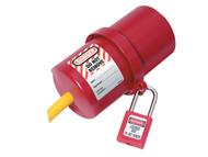 Master Lock MLKS488 - Lockout Electrical Plug Cover Large for 240 - 550 Volt