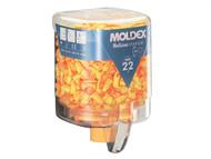 Moldex MOL7625 - Disposable Foam Earplugs Mellows Station 250 Pairs SNR 22