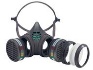 Moldex MOL898225 - Reusable Half Mask ABEK1 P3 R D Size M