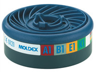 Moldex MOL9400 - ABEK1 Gas Filter Cartridge Wrap of 2