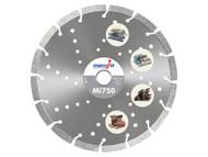 Marcrist MRC750115 - Mi750 Diamond Blade Long Life Universal Cut 115mm x 22.2mm