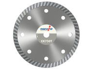 Marcrist MRCCK750T180 - CK750 Turbo Rim Diamond Blade Fast Cut 180mm x 22.2mm