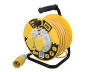 Masterplug MSTLVCT25162 - Cable Reel 25 Metre 16A 110 Volt Thermal Cut-Out