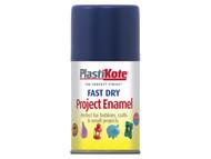 Plasti-kote PKT103S - Fast Dry Enamel Aerosol Night Blue 100ml