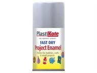 Plasti-kote PKT109S - Fast Dry Enamel Aerosol Aluminium 100ml