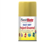 Plasti-kote PKT110S - Fast Dry Enamel Aerosol Gold Leaf 100ml