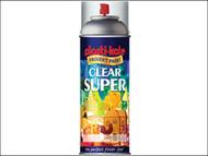 Plasti-kote PKT1138 - Super Gloss Spray Clear 400ml