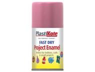 Plasti-kote PKT115S - Fast Dry Enamel Aerosol Hot Pink 100ml