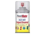 Plasti-kote PKT119S - Fast Dry Enamel Aerosol Clear 100ml