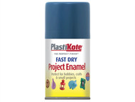 Plasti-kote PKT124S - Fast Dry Enamel Aerosol Harbour Blue 100ml