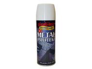 Plasti-kote PKT1286 - Metal Protekt Spray Gloss White 400ml