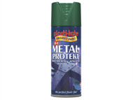 Plasti-kote PKT1296 - Metal Protekt Spray Forest Green 400ml