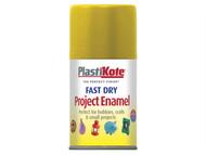 Plasti-kote PKT139S - Fast Dry Enamel Aerosol Brass 100ml