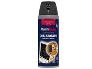 Plasti-kote PKT26001 - Twist & Spray Chalkboard Paint Black 400ml